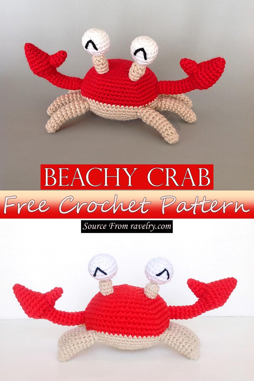 Free Crochet Beachy Crab Pattern