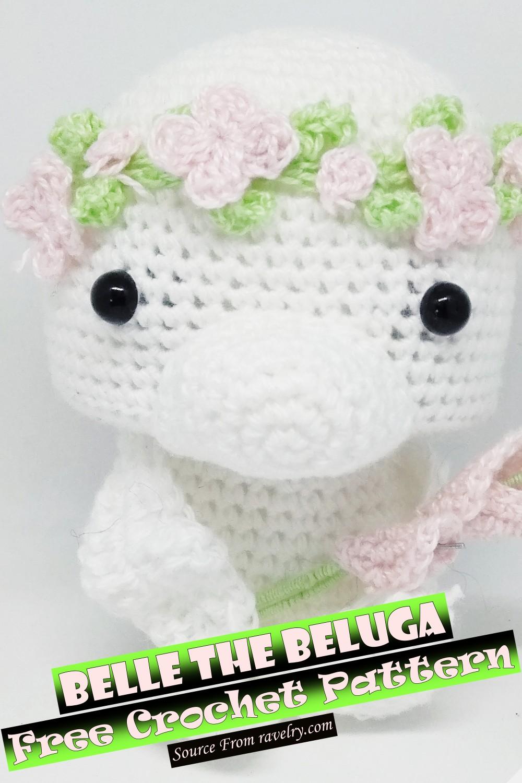 Free Crochet Belle The Beluga Pattern
