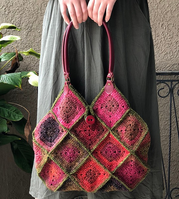 Free Crochet Boho Boss Bag Pattern