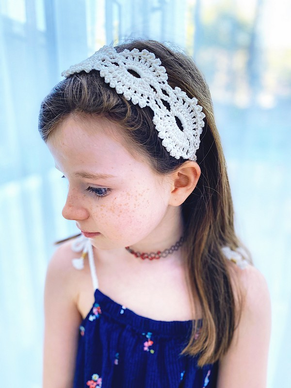 Free Crochet Boho Chic Headband Pattern