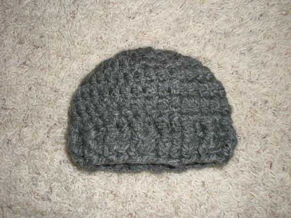 Free Crochet Bulky Baby Hat Pattern