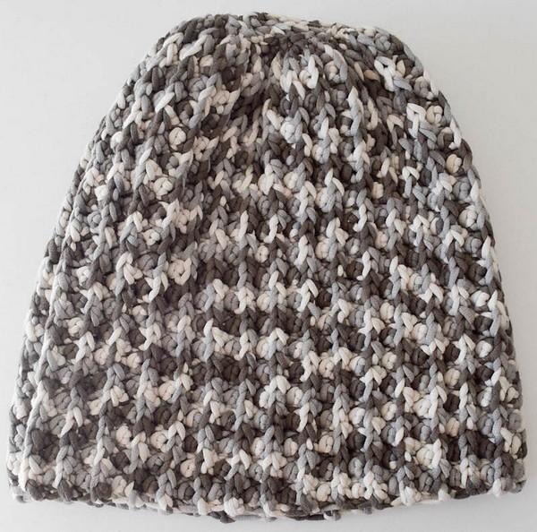 Free Crochet Bulky Faux Mistake Rib Hat Pattern