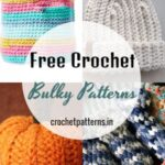 Quick And Easy Free Crochet Bulky Patterns