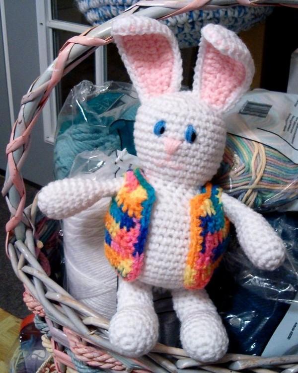 Free Crochet Bunny Brite Rabbit Doll Pattern