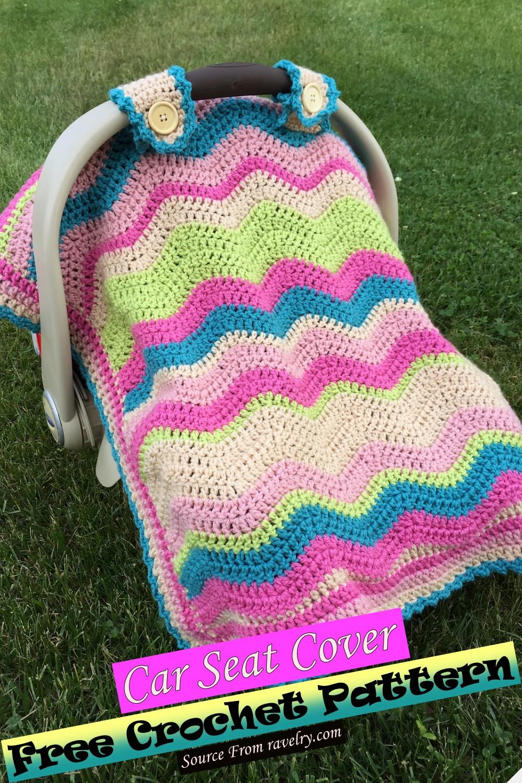 Free Crochet Car Seat Cover Pattern
