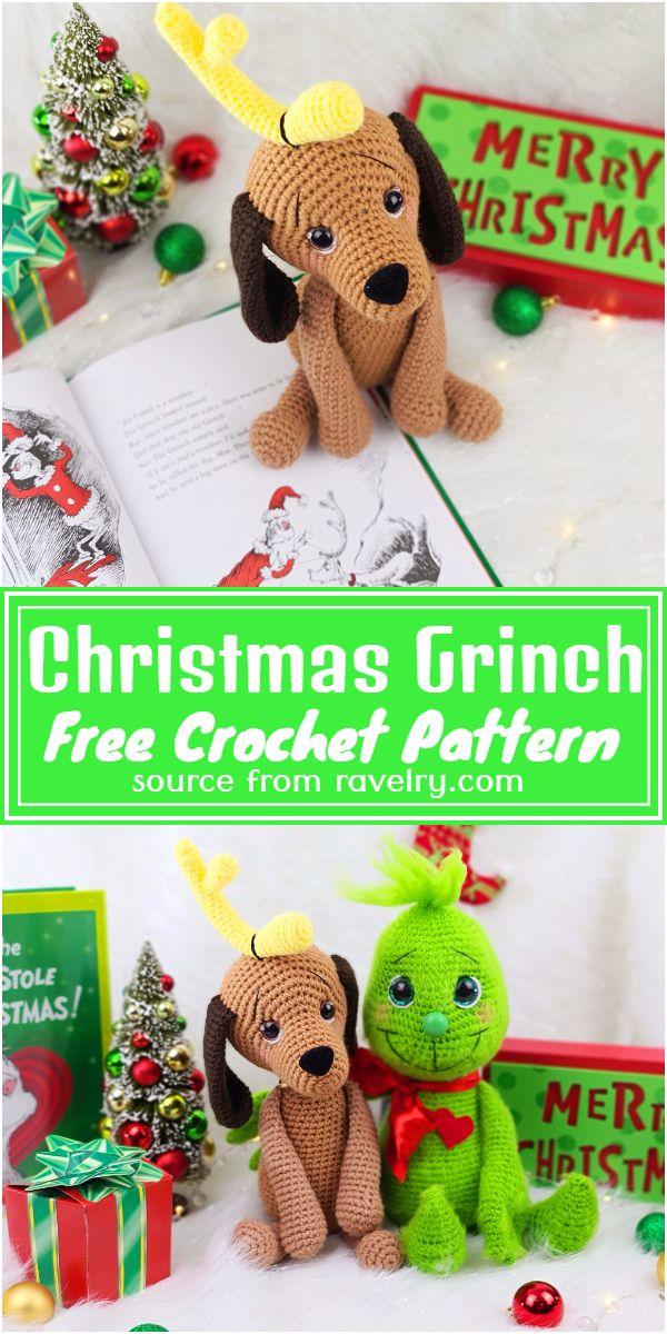 Free Crochet Christmas Grinch Pattern