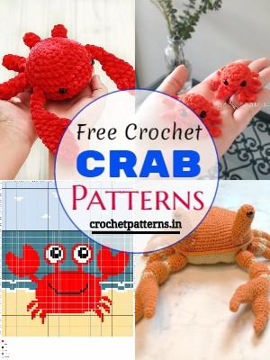 Free Crochet Crab Patterns