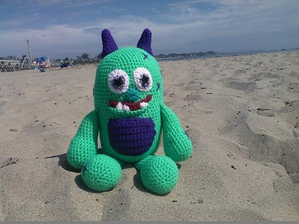 Free Crochet Cruz The Beach Monster Pattern