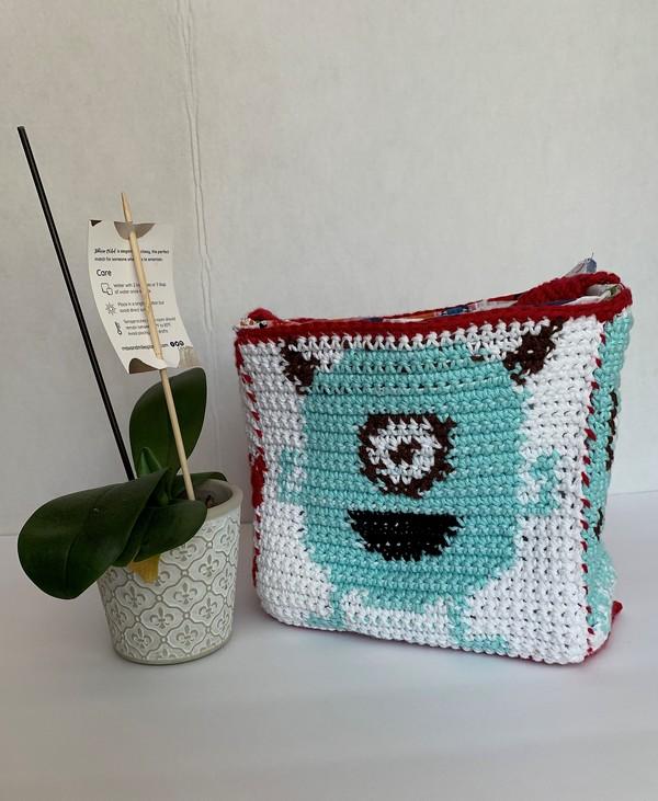 Free Crochet C's Monster Lunch Box Pattern