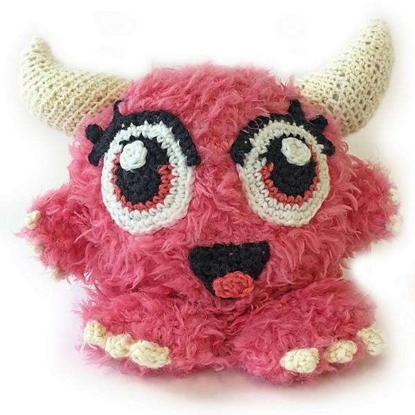 Free Crochet Cuddle Monster Pattern