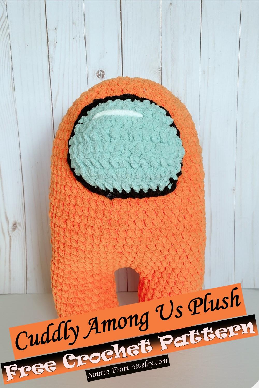 Free Crochet Cuddly Among Us Plush Pattern