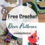 Holiday Free Crochet Deer Patterns