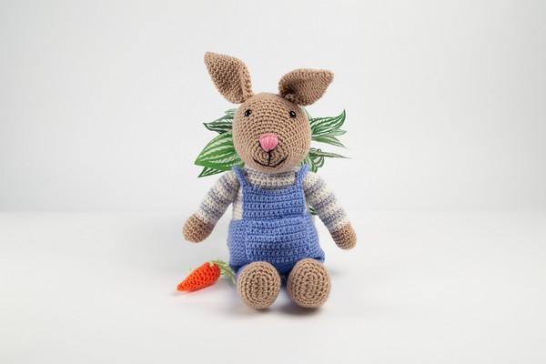 Free Crochet Deramores Bunny Rabbit Pattern