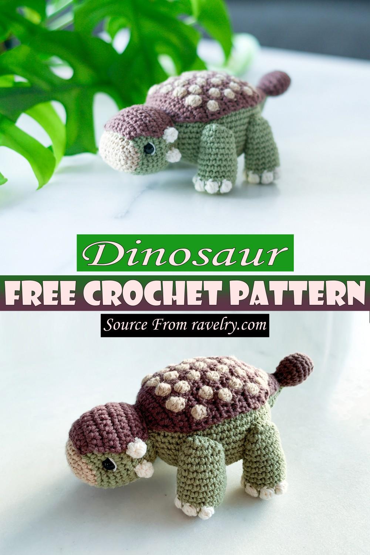 Free Crochet Dinosaur Pattern