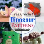 Cute Free Crochet Dinosaur Patterns