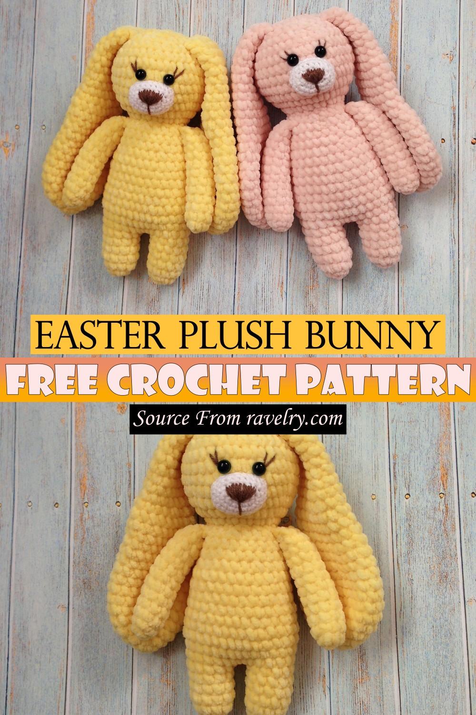 Free Crochet Easter Plush Bunny Pattern