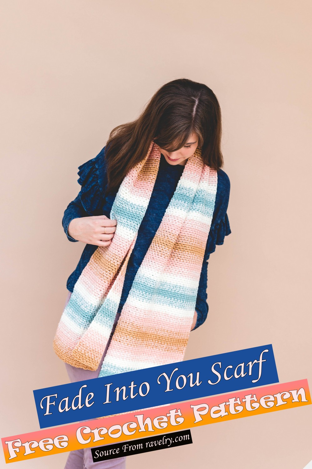 Free Crochet Fade Into You Scarf Pattern