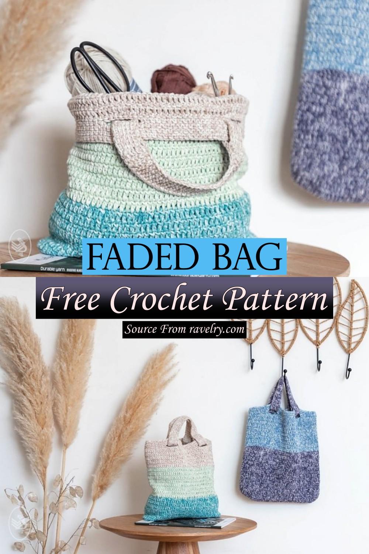 Free Crochet Faded Bag Pattern