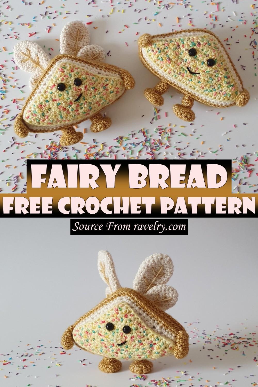 Free Crochet Fairy Bread Pattern