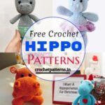 Fun And Adorable Free Crochet Hippo Patterns