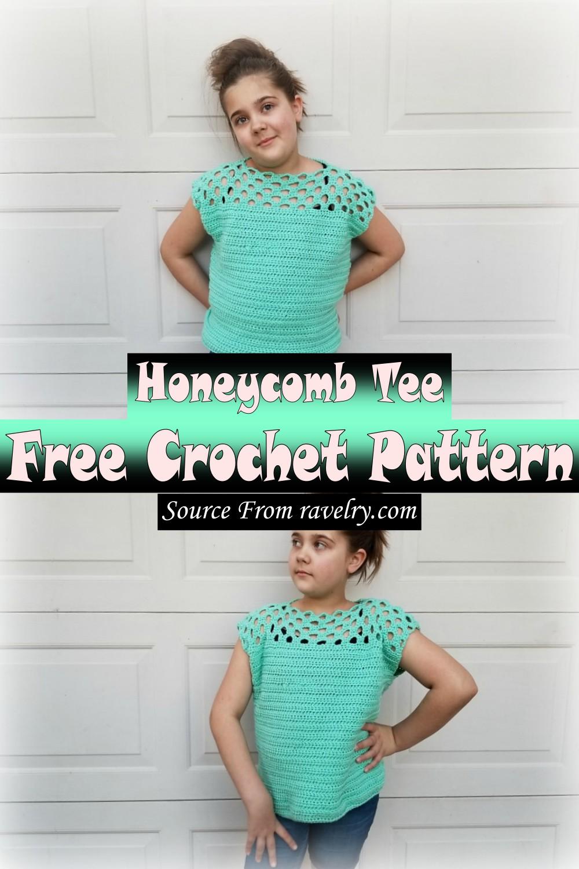 Free Crochet Honeycomb Tee Pattern