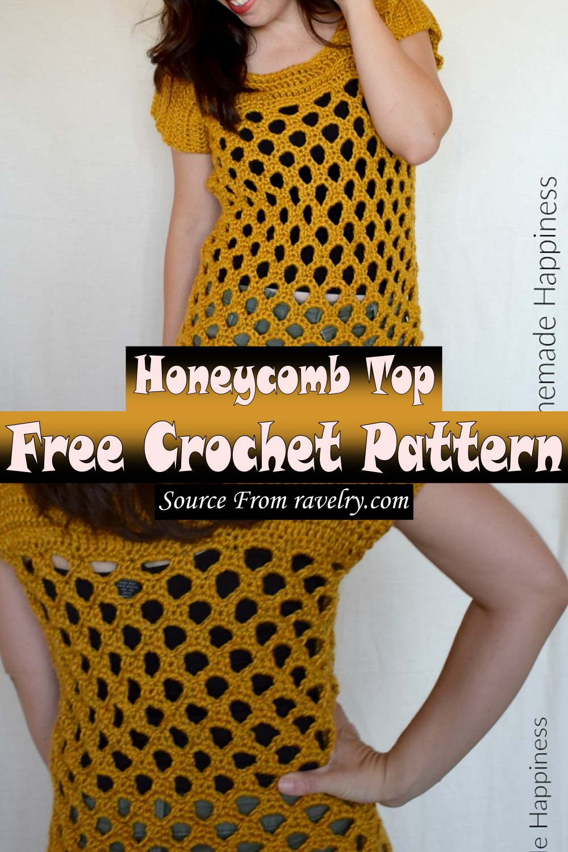 Free Crochet Honeycomb Top Pattern