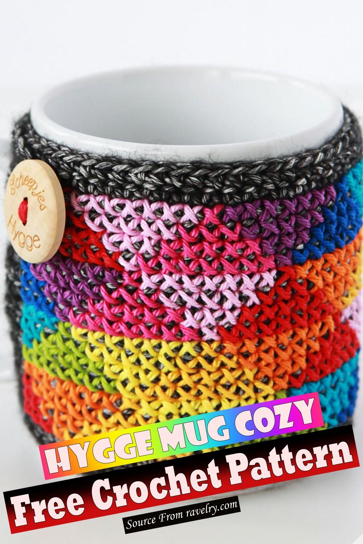 Free Crochet Hygge Mug Cozy Pattern