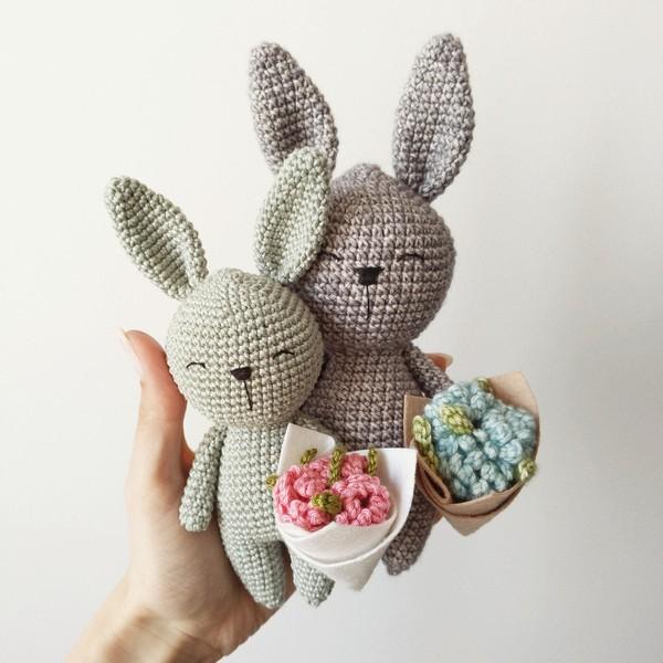 Free Crochet Little Bunny Rabbit Pattern