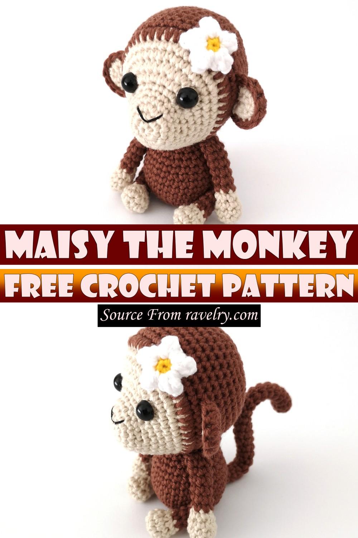 Free Crochet Maisy The Monkey Pattern