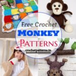 Cute Free Crochet Monkey Patterns And Ideas