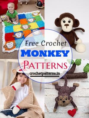 Free Crochet Monkey Patterns