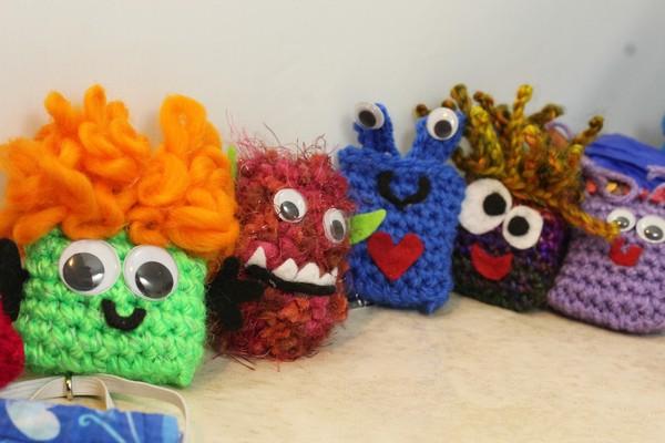 Free Crochet Monster Mask Clip Pattern