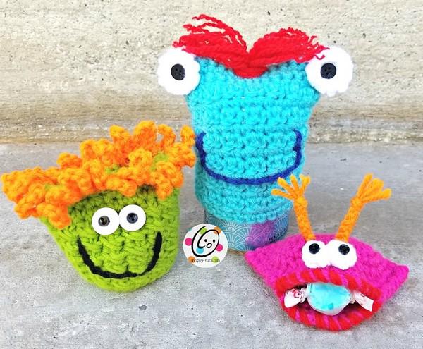Free Crochet Monster Mayhem Pattern