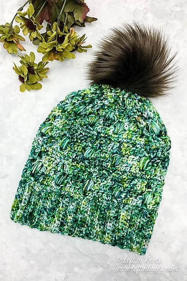 Free Crochet Monteverde Slouchy Hat Pattern