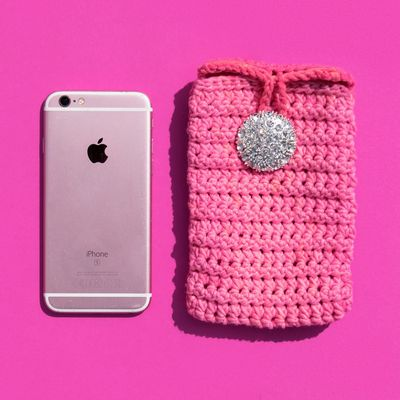 Free Crochet Paired HDC Phone Case Pattern