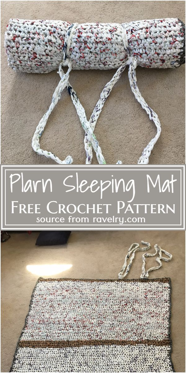 Free Crochet Plarn Sleeping Mat Pattern