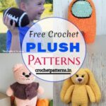 Adorable Free Crochet Plush Patterns For Children's Playing