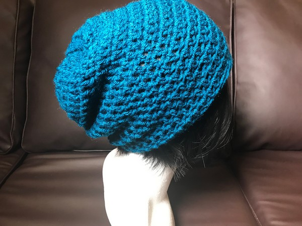Free Crochet Quick & Easy Slouchy Beanie Pattern