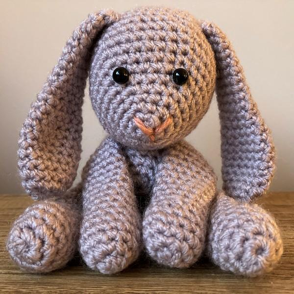 Free Crochet Rabbit Amigurumi Pattern