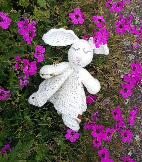 Free Crochet Rabbit Lovey Pattern