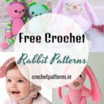 Cute Little Free Crochet Rabbit Patterns