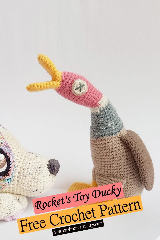 Free Crochet Rocket's Toy Ducky Pattern