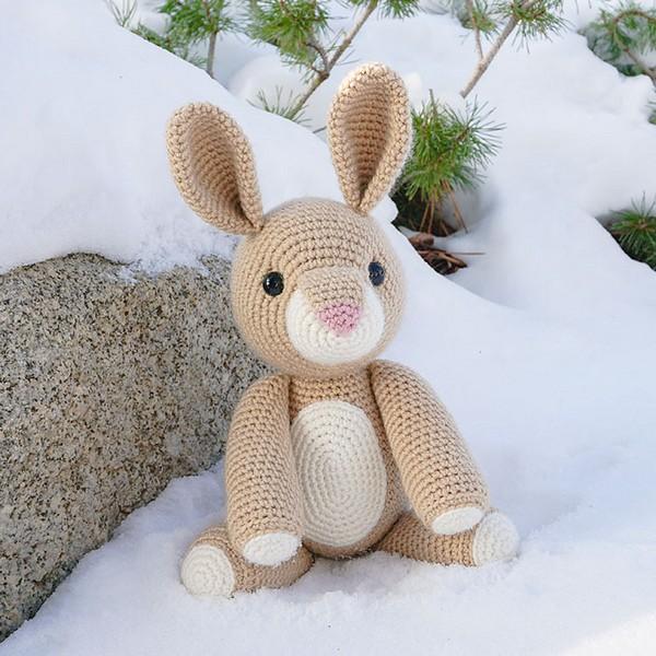 Free Crochet Rose The Rabbit Pattern