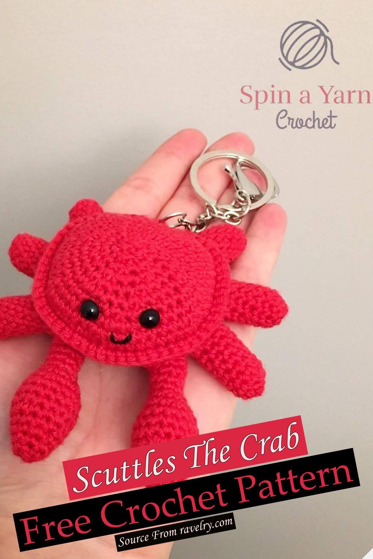 Free Crochet Scuttles The Crab Pattern
