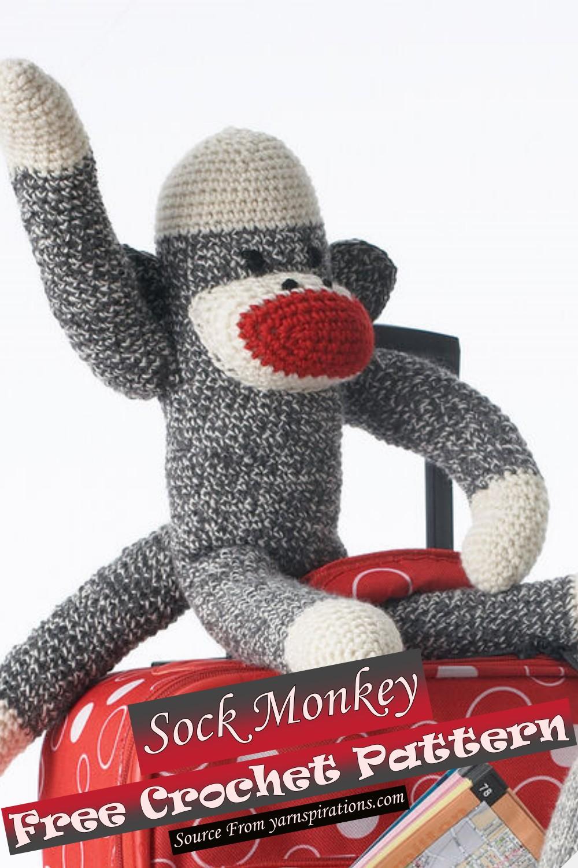 Free Crochet Sock Monkey Pattern
