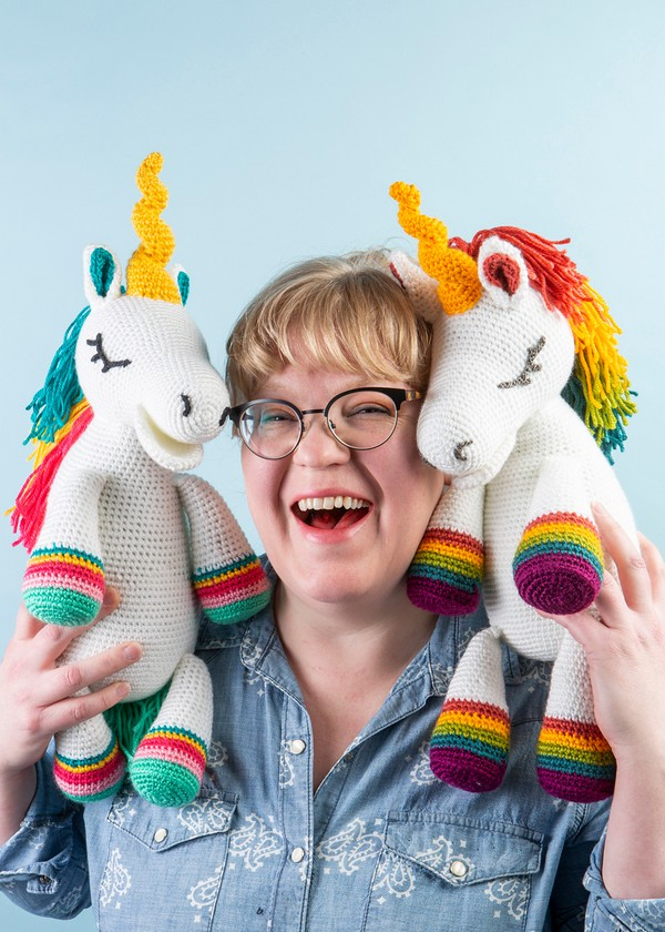 Free Crochet Sparkles The Unicorn Softie Pattern