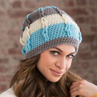 Free Crochet Stripe It Slouchy Pattern