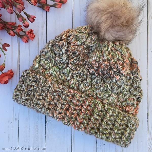 Free Crochet Super Bulky Daphne Beanie Pattern