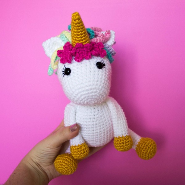 Free Crochet The Friendly Unicorn Pattern