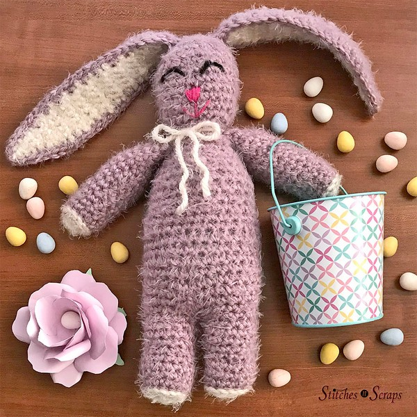 Free Crochet Tulip The Bunny Rabbit Pattern
